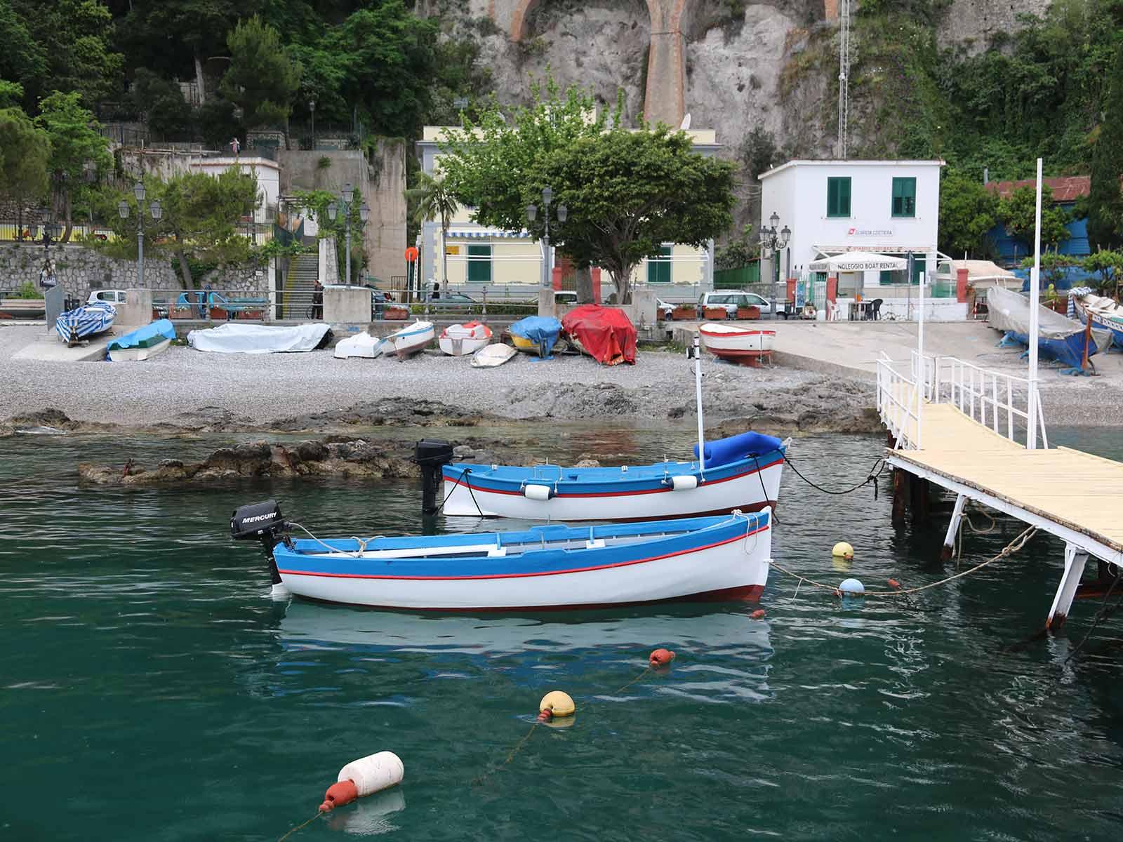 Zurück im Hafen von Amalfi