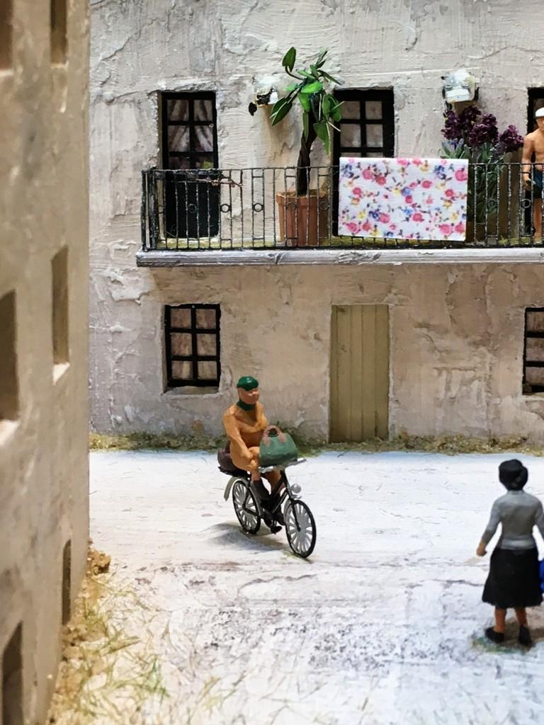Vom Balkon meines Zimmers: So stellt man sich das Leben in Italien doch vor, oder?