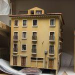 Was auf dem Plan total unspektakulär aussieht, ist in Natura ein wunderschönes Haus, das perfekt nach Venedig passt.